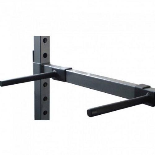 dip bars dkn accesorio crossfit half rack