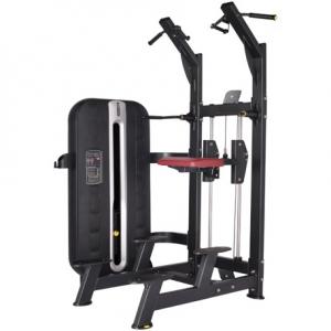 maquina para trabajar triceps. biceps, deltoides, pectorales dkn