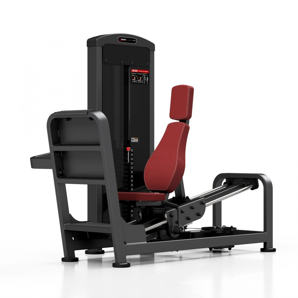 prensa de piernas sentado dkn mpu217