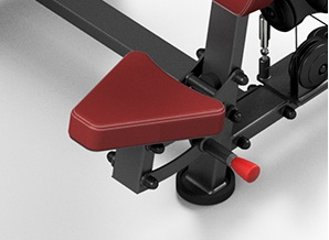 asiento ajuste maquina press de hombros mpu226 dkn