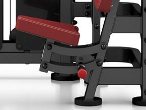 maquina de abdominales dkn asiento ajustable mpu223
