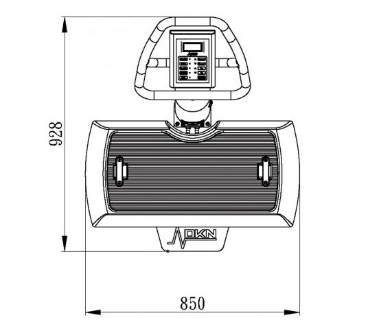 plataforma vibratoria modelo xg-5-3 dknpng