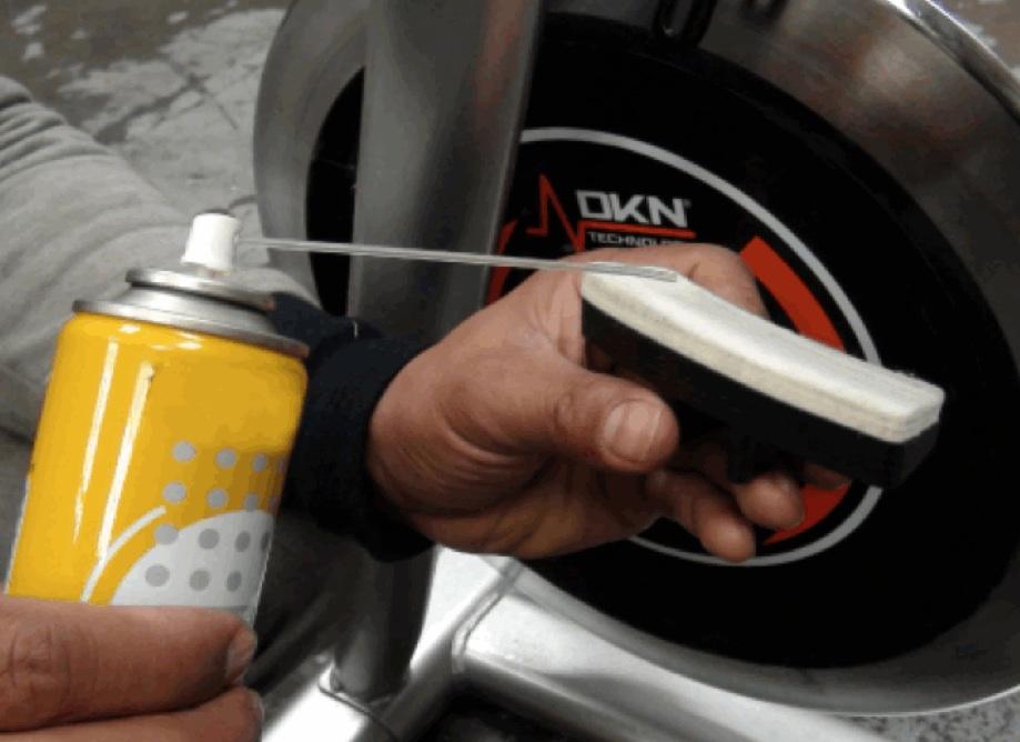zapatas de freno dkn ciclo indoor lubricacion